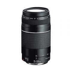 Lente para cámara Canon EF-75-300MM F/4-5.6 III