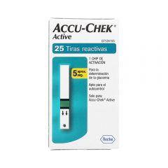 Tiras Reactivas Accu-Chek Active x25
