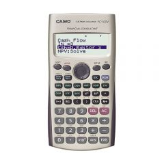 Calculadora Financiera Casio FC-100V-W-DH