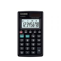 Calculadora de Bolsillo Casio SL-797TV-BK-W-DH