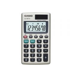 Calculadora de Bolsillo Casio SL-797TV-GD-W-DH