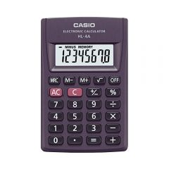Calculadora de Bolsillo Casio HL-4A-W-DH