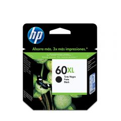 Cartucho de Tinta HP 60XL Negro Original