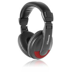 Audífono con micrófono  Micronics  Platinum MIC H701 Red
