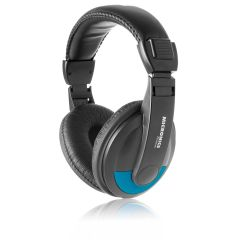 Audífono con micrófono Micronics  Platinum MIC H701 Blue