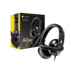 Audífono Gaming con Micrófono Antryx Xtreme GH-350 Negro
