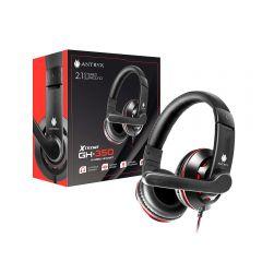 Audífono Gaming con Micrófono Antryx Xtreme GH-350 Rojo