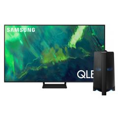 "TV Samsung LED 4K QLED Smart 85"" QN85Q70AAGXPE + Torre de Sonido Samsung MX-T70 1500W"