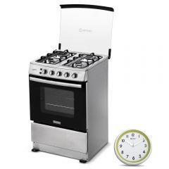 Cocina a Gas Miray Gardenia 4 Hornillas + Reloj Pared Miray RMP-61