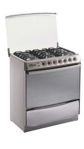 Cocina GN/GLP Klimatic Tremare 6 hornillas