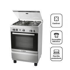 Cocina a Gas Bosch PRO425 4 hornillas