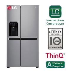 Refrigeradora LG Side by Side GS65SPPN No Frost 601L