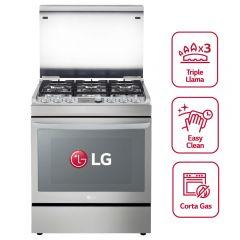 Cocina GLP LG RSG315T 6 hornillas
