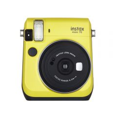 Cámara Instax Fujifilm Mini 70 Amarillo + 10 películas
