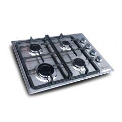 Cocina Empotrable a Gas Electrolux ETGE24S0CLS 4 Hornillas