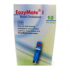 Tira Reactiva EasyMate COLESTEROL x10