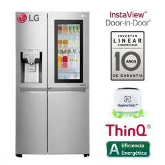 Refrigeradora LG Side by Side LS65SXN No Frost 601L