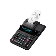 Calculadora con Wincha Casio DR-120R-BK-E-DC