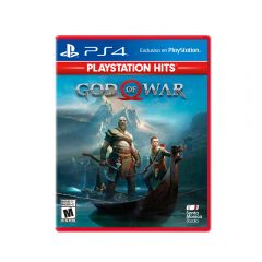 Videojuego God of War 4 PS4