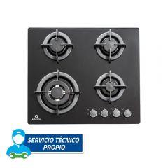 Cocina Empotrable GLP Indurama EGI-604VDNEG 4 hornillas