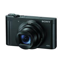 Cámara Digital Sony DSC-WX800 18.2MP Lente Zeiss 4K Negro