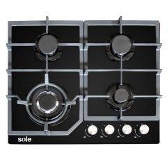 Cocina a Gas Sole SOLCO045 4 Hornillas
