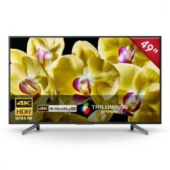 "TV Sony LED 4K UHD Smart 49"" XBR-49X805G"