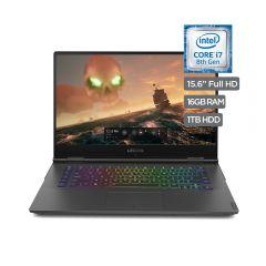 """Laptop Lenovo Y740-15ICHG#81HE003ULM 15.6"""" Intel Core i7 8750H 1TB+128GB SSD 16GB"""