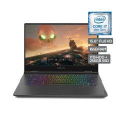 """Laptop Lenovo Y740-15ICHG#81HE003VLM 15.6"""" Intel i7 1TB+256GB SSD 16GB"""