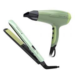 Secadora Cabello Alisadora Remington Shine Therapy S9960-D5216