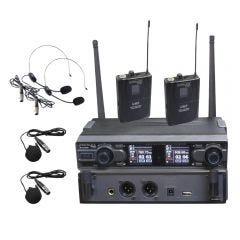 Micrófono Inalámbrico BatBlack BT-D332BP