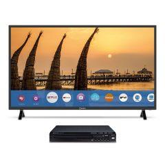 "TV Miray LED HD Smart 39"" MS39-T100 + Reproductor DVD Miray DVM-L125"