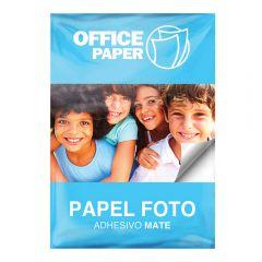 Papel Foto Adhesivo Mate 110g x 20 hojas A4