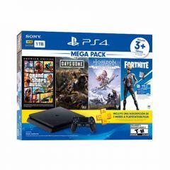 Consola PS4 Slim 1TB Megapack 6 BNDL