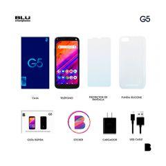 """Celular Libre Blu G5 5.5"""" 32GB Azul"""