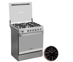 Cocina a Gas Miray GLADIOLO 5 hornillas + Reloj Pared Miray RMP-66