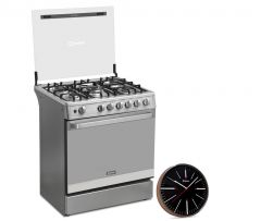 Cocina A Gas Miray PONCIANA 5 hornillas +  Reloj Pared Miray RMP-66