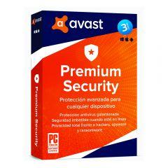 Antivirus Avast Premium Security 3PC/2020