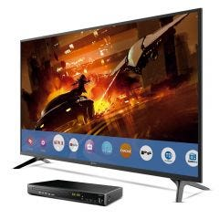 """TV Miray LED FHD Smart 43"""" MS43-T101 + Reproductor Blu-ray Miray BLM-BD311"""