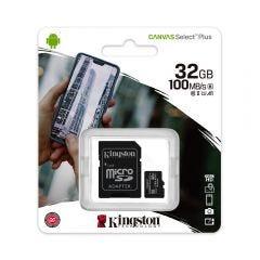 Tarjeta Micro SD Kingston 32GB Canvas Select Plus