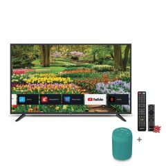 "TV Miray LED 4K UHD Smart 43"" MK43-E2000BT + Parlante Portátil Miray PMBT-49V  + Pila Maxell LR-03AAAX2"