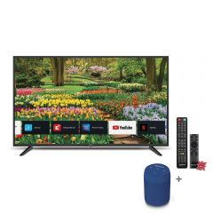 "TV Miray LED 4K UHD Smart 43"" MK43-E2000BT + Parlante Portátil Miray PMBT-49A + Pila Maxel LR-03AAAX2"