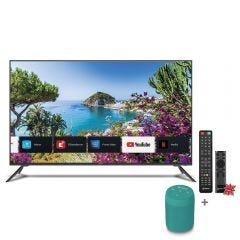 "TV Miray LED 4K UHD Smart 50"" MK50-E2000BT + Parlante Portátil Miray PMBT-49V + Maxell LR-03AAAX2"