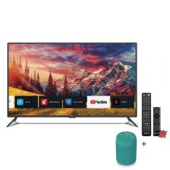 "TV Miray LED 4K UHD Smart 55"" MK55-E2000BT + Parlante Portátil Miray PMBT-49V + Pila Maxell LR-03AAAX2"