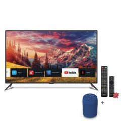 "TV Miray LED 4K UHD Smart 55"" MK55-E2000BT + Parlante Portátil Miray PMBT-49A + Pila Maxell LR-03AAAX2"
