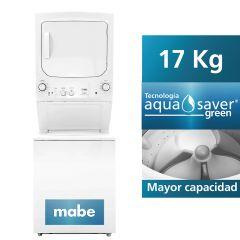 Centro de Lavado Mabe MCL1740ESBB1 17kg/15 kg