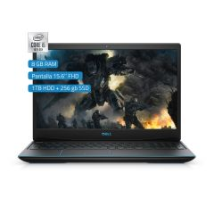 Laptop Gaming Dell G3 3350 15.6'' Intel Core i5-10300H  1TB HDD + 256GB SSD 8GB RAM