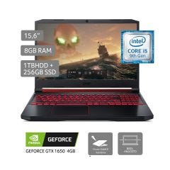 "Laptop Acer AN515-54-528E 15.6"" Intel Core i5-9300H 1TB + 256GB SSD 8GB RAM"