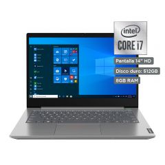 "Laptop Lenovo ThinkBook 14 20RV00AJLM 14"" Intel Corei i7-10510U 512GB SSD 8GB RAM"