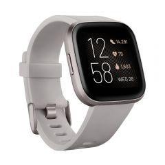 Reloj Smart Fitbit VERSA 2 FB507GYSR  Stone Mist Gray